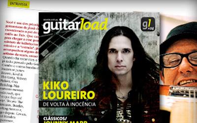 Revista Guitar Load faz entrevista especial com Paulinho Guitarra