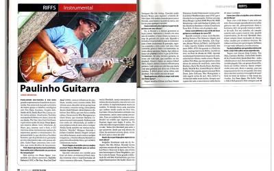 Revista Guitar Player traz entrevista especial com Paulinho Guitarra