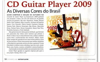 Revista Guitar Player traz CD Especial com Paulinho Guitarra na edição de Outubro