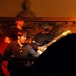 paulinho guitarra, kiko continentino e juliano candido no santo scenarium