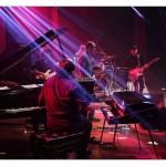 show makima trio, kiko continentino, renato massa, marcelo maia. convidados, marcelo martins e paulinho guitarra. festival de jazz goiania, abr2014