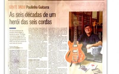 Jornal O Globo homenageia Paulinho Guitarra